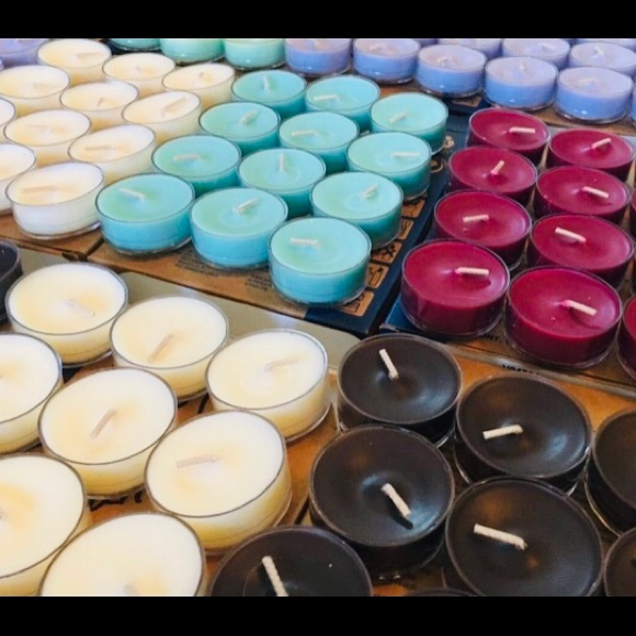 Partylite Tealights - various scents.